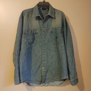 Men's Vintage Bugle Boy denim shirt